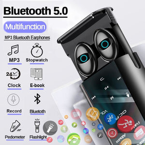 Wireless Bluetooth Earbuds MP3 Player 6000mAh Power Bank