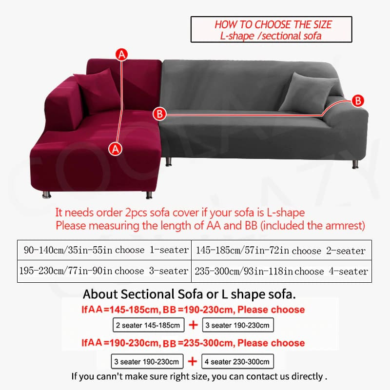 Universal Sofa Cover Elastic Cover - 50% OFF Today!