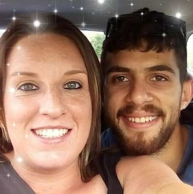 a close up of a couple of people posing for the camera: Police said all aspects of the crash, including the relationship between the couple, was under investigation