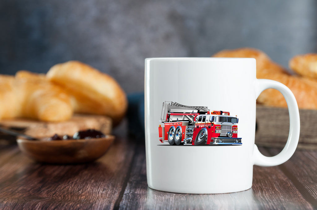 Fire Fighter Mugs