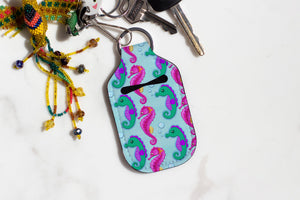Seahorses Hand Sanitizer Holder