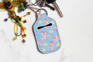 Unicorns and Balloons Hand Sanitizer Holder