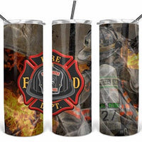 FD Crew  20oz Stainless Steel Tumbler with Straw & Lid
