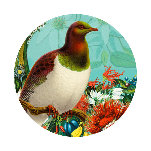 Botanical Kereru Art Spot