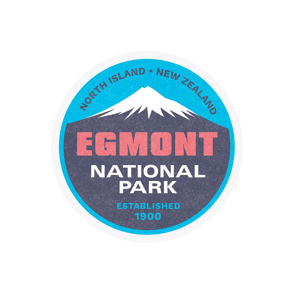 Egmont National Park Ceramic Coaster