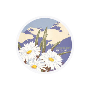 Southern Alps Tourist Ceramic Coaster