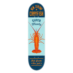NZ Seafood Skateboard Deck
