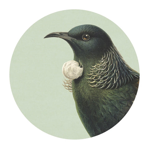 Hushed Green Tui Placemat
