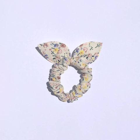 Bunny Hair Tie - Small Floral Print