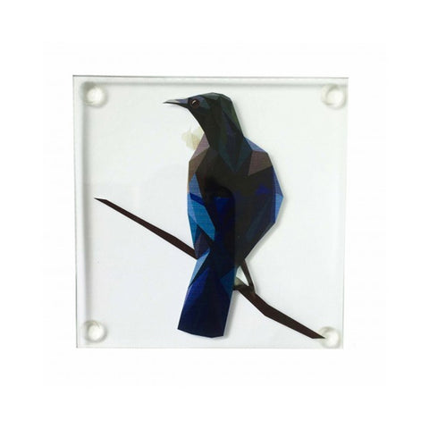 Geo Tui Glass Coaster