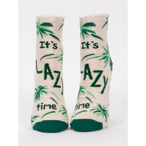 It's Lazy Time Women's Ankle Socks