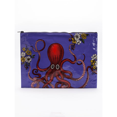 Octopus Jumbo Zipper Pouch