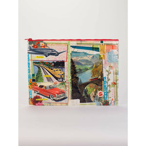 Planes, Trains, Autos Jumbo Zipper Pouch