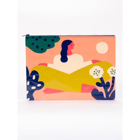 Soak up the Sun Jumbo Zipper Pouch