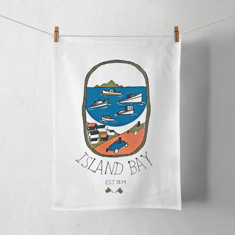 Island Bay Tea Towel
