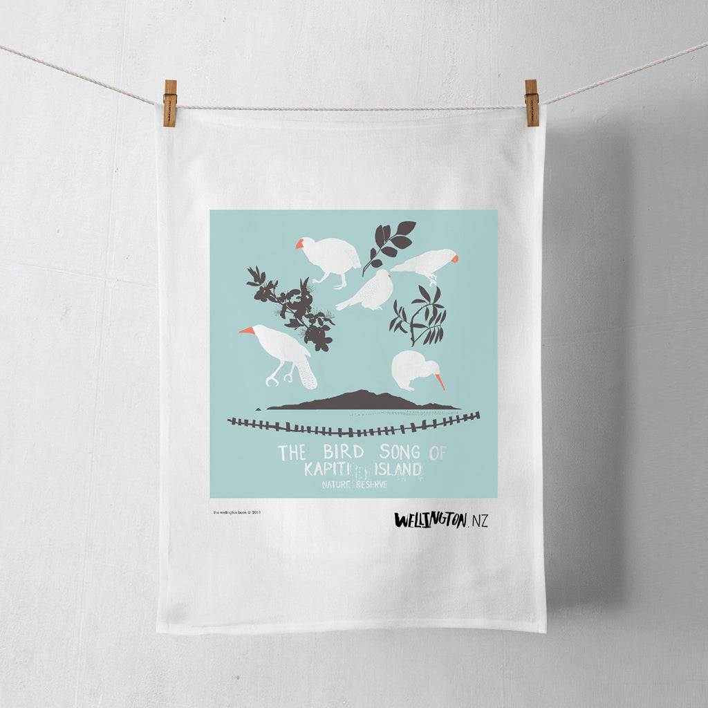 Wellington Book Kapiti Island Tea Towel