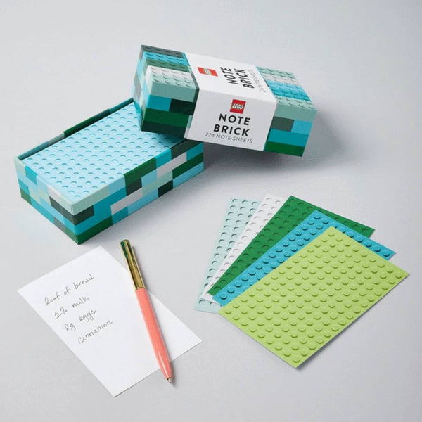 Lego Note Brick (Blue/Green)