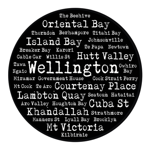 Restickable Wellington/South Coast Suburbs