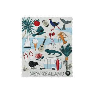 Kiwi Tour Glasses Cloth