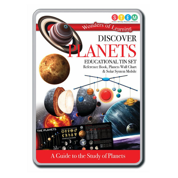 Discover Educational Tin Set