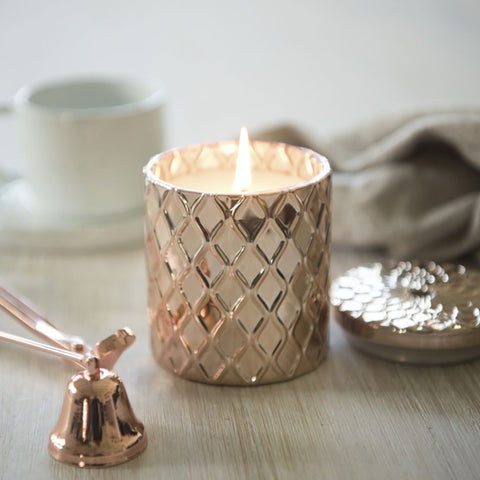 Illumina Rose Gold Candle