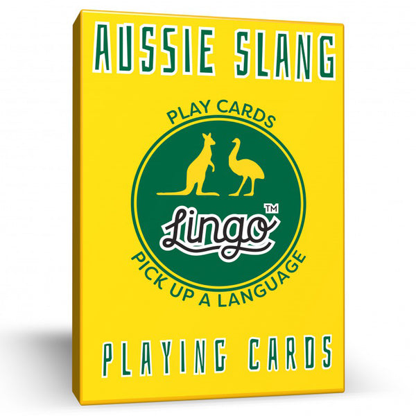 Aussie Slang Lingo Playing Cards