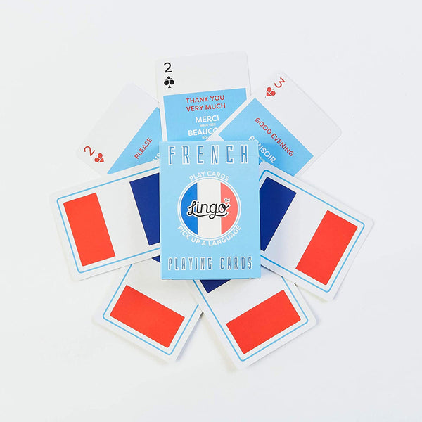 French Lingo Playing Cards
