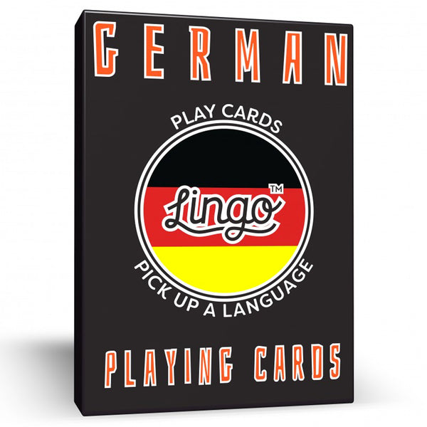 German Lingo Playing Cards