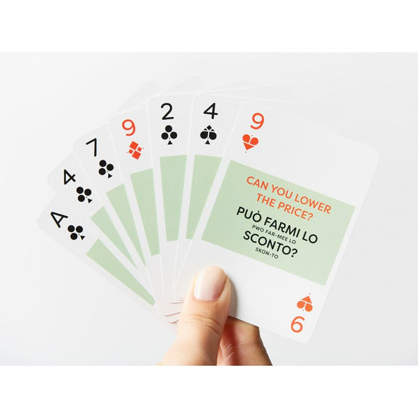 Italian Lingo Playing Cards