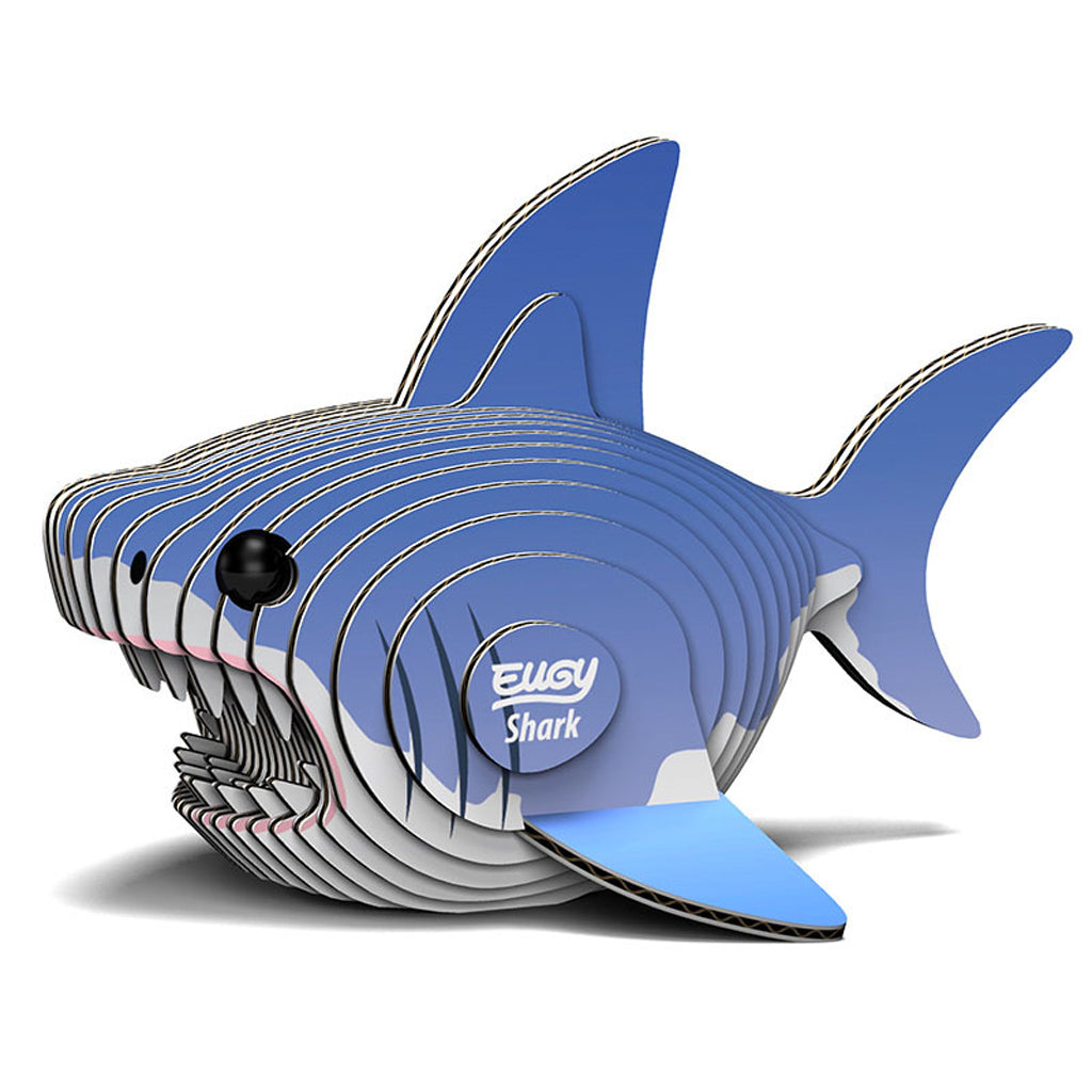 Shark 3D Model Kit Flatpack