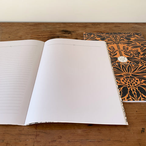 Huia Aubergine A4 Notebook