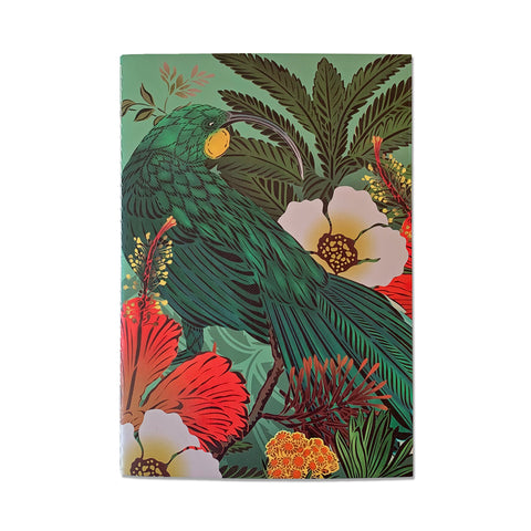 Huia Sage A5 Notebook