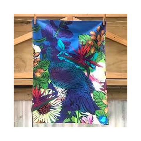 Kereru Sky Tea Towel