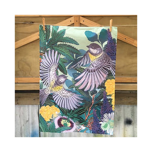 Magical Miromiro Tea Towel