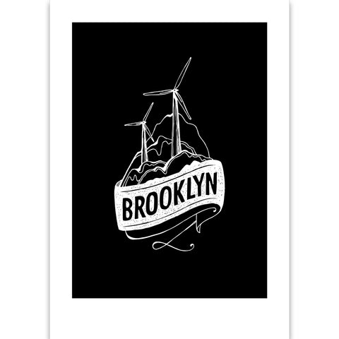 Brooklyn Suburb Print