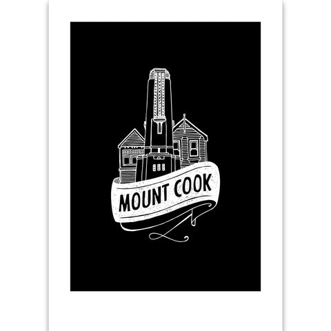 Mt Cook Suburb Print
