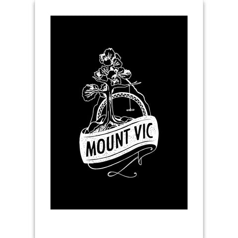 Mt Vic Suburb Print