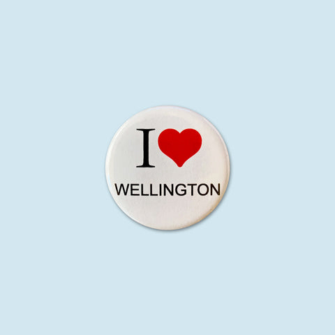 I {Heart} Wellington Badge