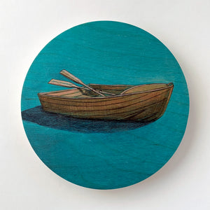 Dinghy Round Ply Wall Art