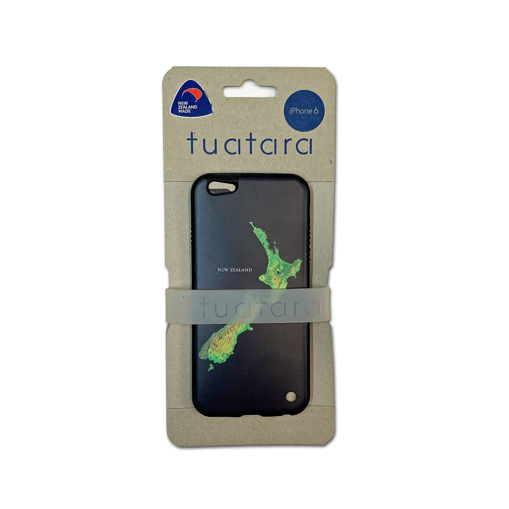 NZ Map iPhone 6 Cover