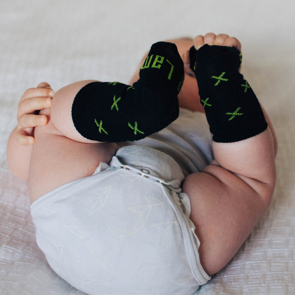 Major Merino Crew Baby Socks