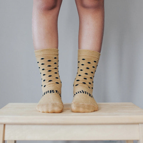 Acorn Merino Crew Child Socks