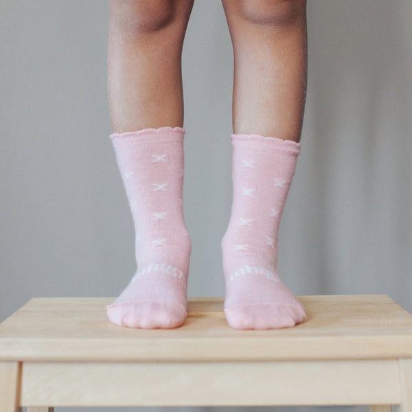 Rosemary Merino Crew Child Socks