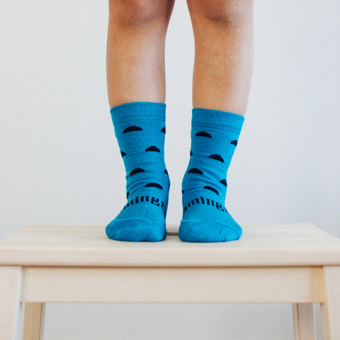 Atlas Merino Crew Toddler Socks