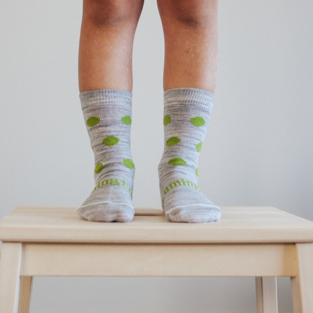 Zach Merino Crew Toddler Socks