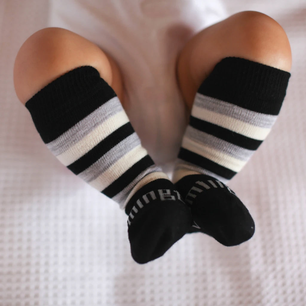 Arthur Merino Knee High Baby Socks
