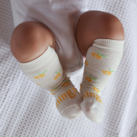 Buttercup Merino Knee High Toddler Socks