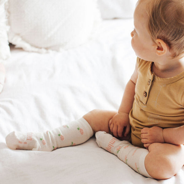 Rosie Merino Knee High Baby Socks