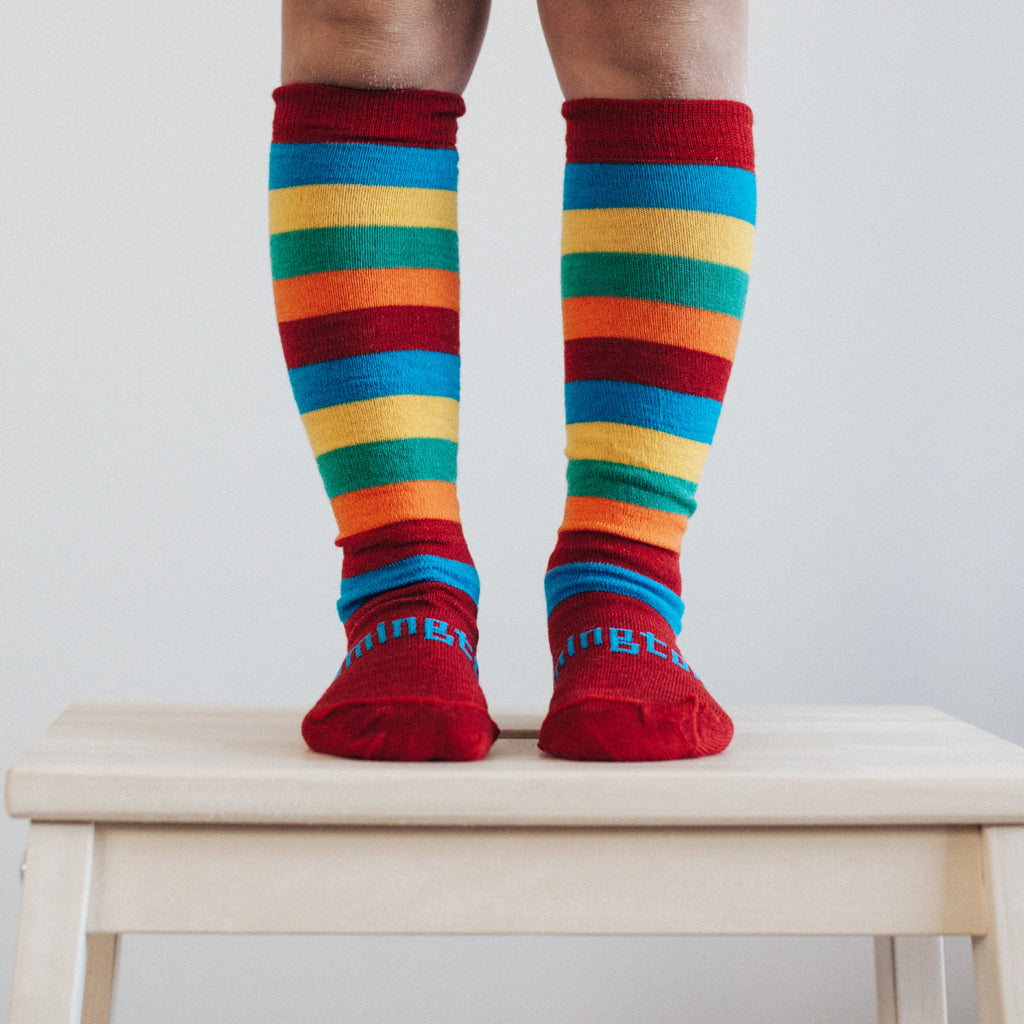 Scooter Merino Knee High Child Socks