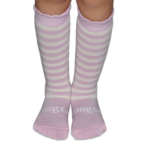 Coconut Ice Merino Knee High Toddler Socks